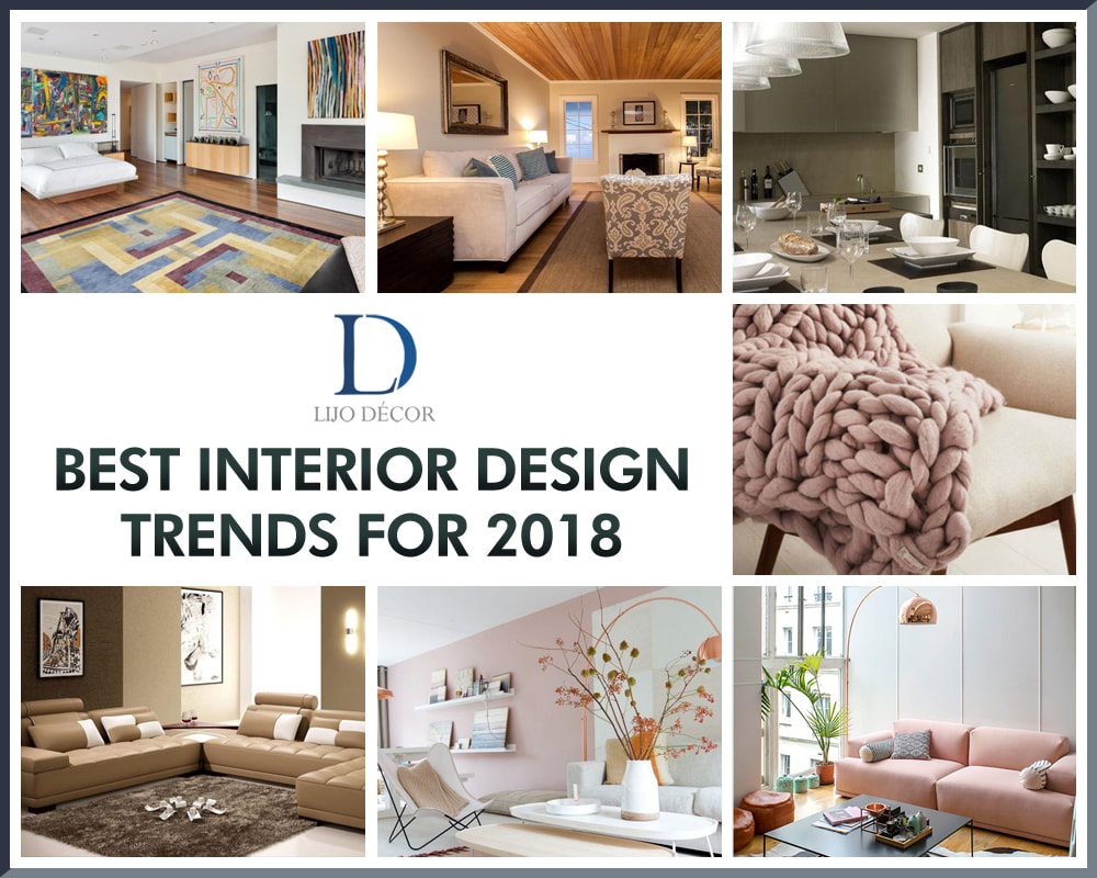 Living Room Decor Trends To Follow In 2018: Best Interior Design Trends For 2018